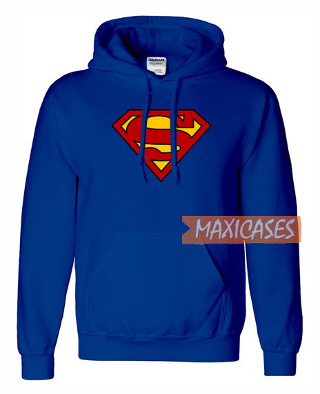 Superman Logo Hoodie Unisex Adult Size S to 3XL   Superman ...