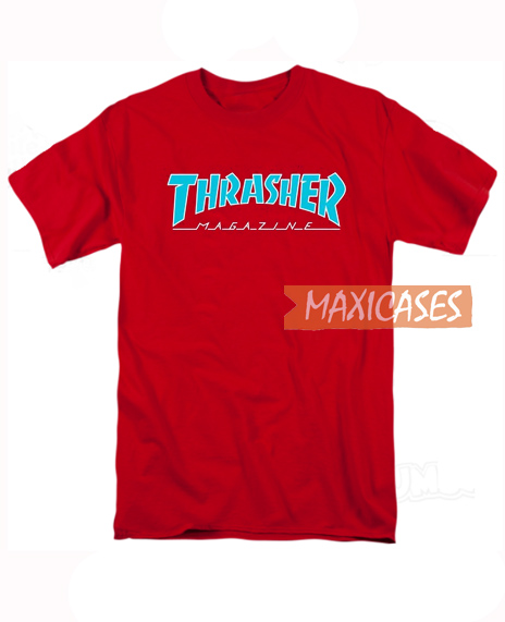 Thrasher Magazine Red T Shirt Women Men And Youth Size S to 3XL 4ac5ebafd6