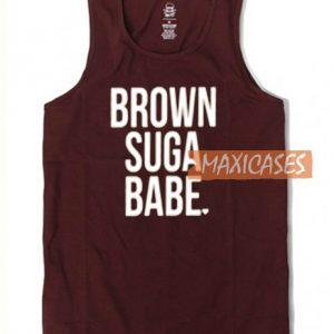 Brown Suga Babe Tank Top