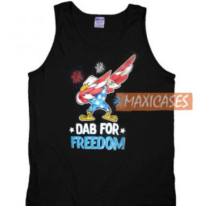 0215ff1d8a5997 Dab For Freedom Tank Top Men And Women Size S to 3XL