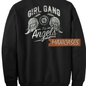 Girl Gang Engels Sweatshirt