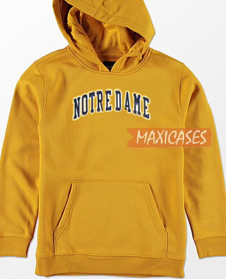 ac44d9c9 Notre Dame Hoodie Unisex Adult Size S to 3XL   Notre Dame Hoodie