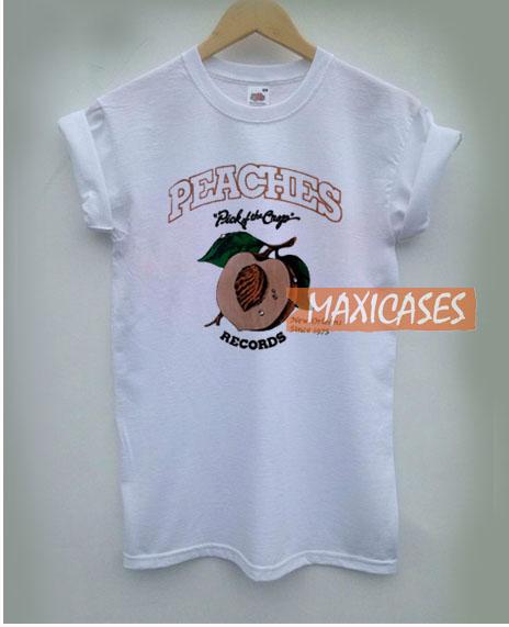 Peaches Record T Shirt