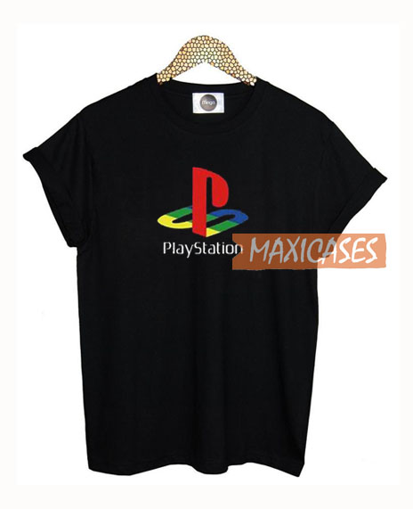 Playstation Logo T Shirt