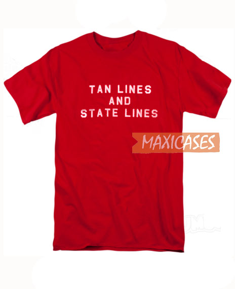 Tan Lines And State Lines T Shirt