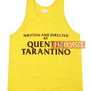 Written And Directed Tank Top