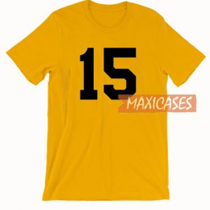 15 Yellow T Shirt