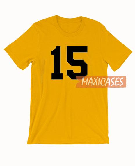 15 Yellow T Shirt