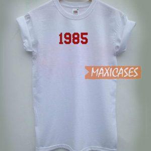1985 Font T Shirt