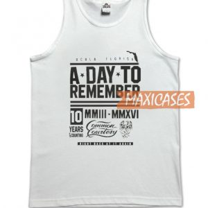A Day To Remember Tank Top