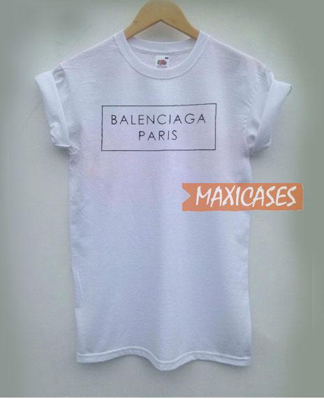 03701cbec39 Balenciaga Paris T Shirt Women Men And Youth Size S to 3XL