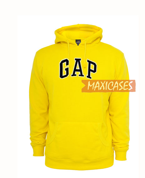fab054566 GAP Yellow Hoodie Unisex Adult Size S to 3XL