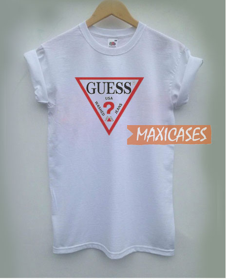 69c8f1fd7079 Guess White T Shirt Women Men And Youth Size S to 3XL