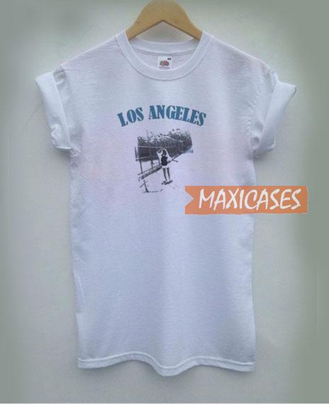 Los Angeles White T Shirt