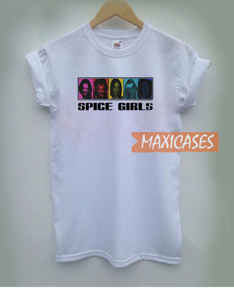 Spice Girl White T Shirt