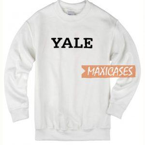 Yale White Sweatshirt