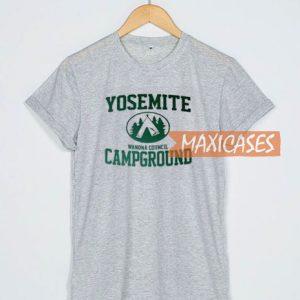 Yosemite Campground T Shirt