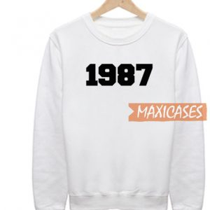 1987 Font Sweatshirt