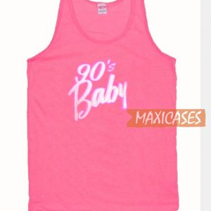 90's Baby Pink Tank Top