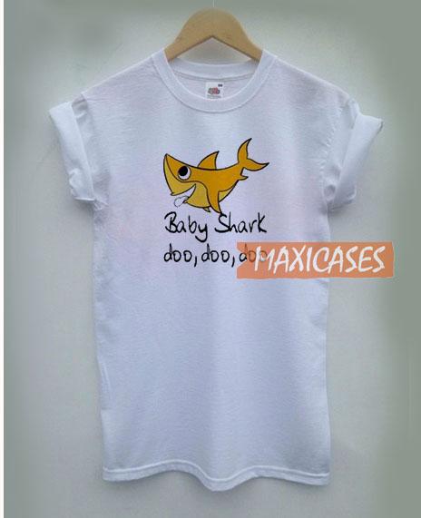 e91a7d77 Baby Shark Doo Doo Doo T Shirt Women Men And Youth Size S to 3XL