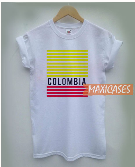 Colombia Stripe T Shirt