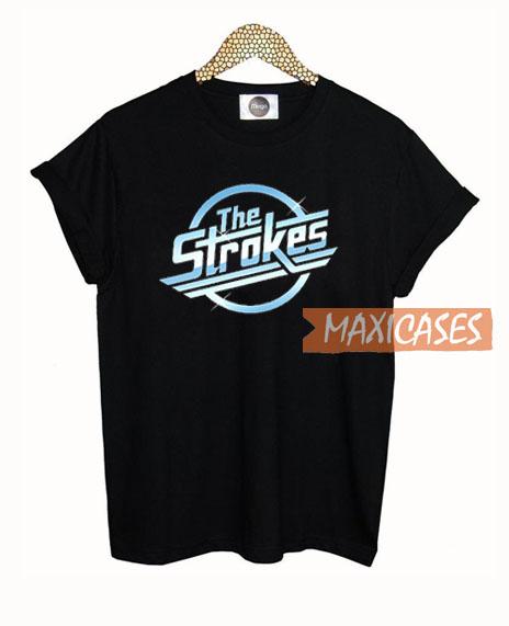 The Strokes Logo T Shirt