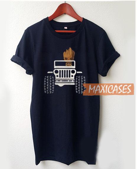 Baby Groot Drive T Shirt