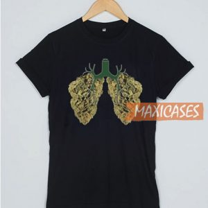 Weed Lungs T Shirt
