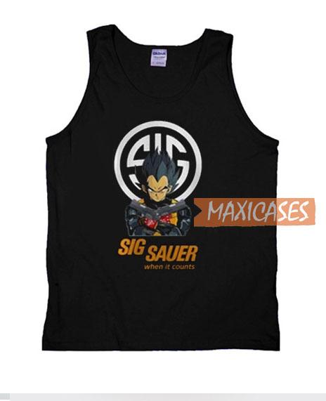 Goku Team Sig Sauer When Tank Top