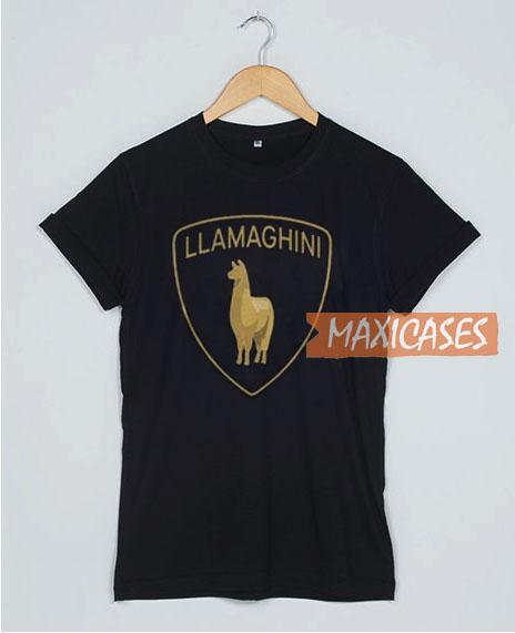 Llama Lamborghini T Shirt