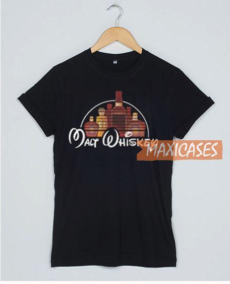 Malt Whiskey Disney T Shirt