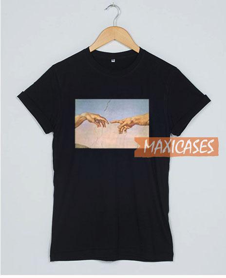 Michelangelo Hand T Shirt