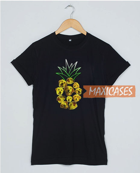 Pineapple Dogs T Shirt