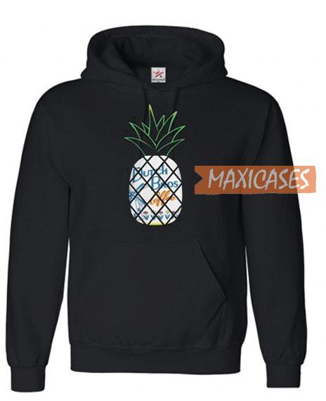 Pineapples Dutch Bros Coffee Hoodie