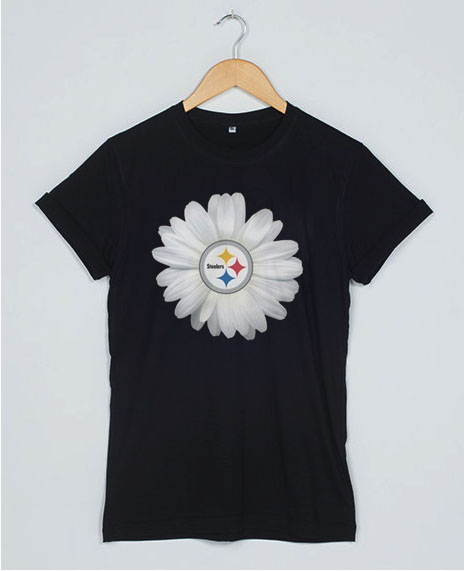 Pittsburgh Steelers Daisy T Shirt