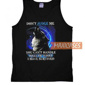 Wolf Don't Judge Me Tank Top