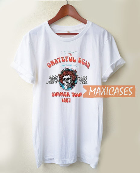 613282195ae6 Grateful Dead Summer Tour 1987 T Shirt Women Men And Youth Size ...