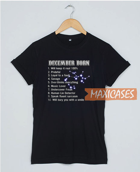 10 Things About December T Shirt