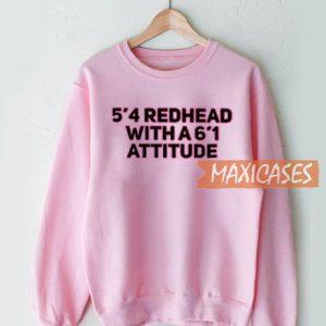 5'4 Redhead With A 6'1 Sweatshirt