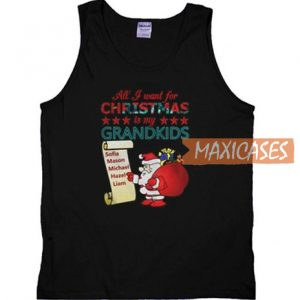 All I Want For Christmas Tank Top