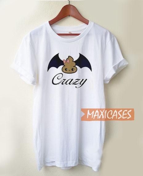 Crazy Cute Bat Poops T Shirt