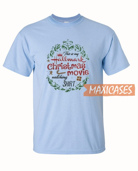bcccdea9051f Hallmark Christmas Movie T Shirt Women Men And Youth Size S to 3XL
