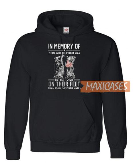 In memory Of Hoodie
