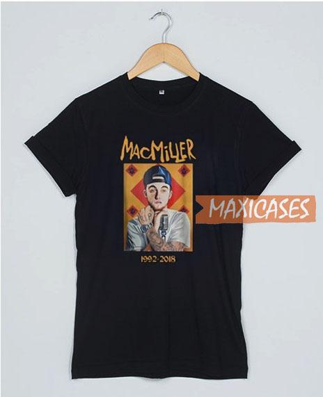 f6870b585 Mac Miller RIP 1992 T Shirt Women Men And Youth Size S to 3XL