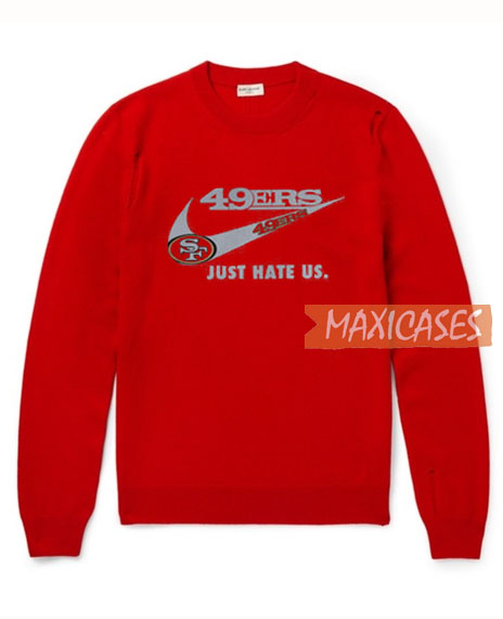 best service 17284 43c00 Nike San Francisco 49ers Sweatshirt Unisex Adult Size S to 3XL