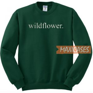 Wildflower Font Sweatshirt