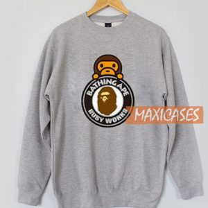 A Bathing Ape Milo On Busy Sweatshirt