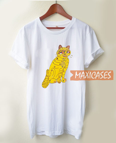 41f7f6cb17ff1 Abba Yellow Cat T Shirt Women Men And Youth Size S to 3XL