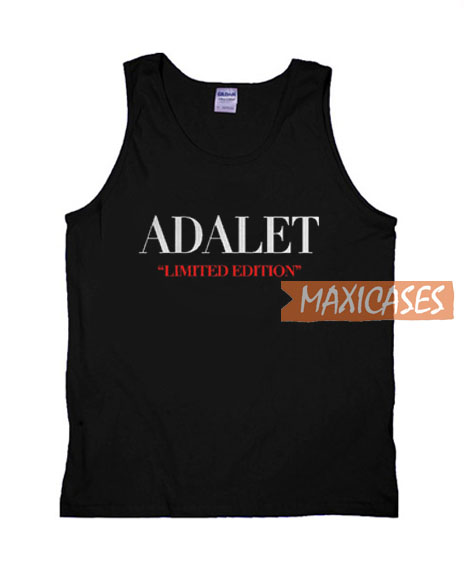 Adalet Limited Edition Tank Top