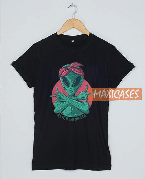 Alien Gangsta T Shirt